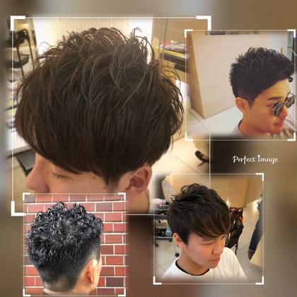 入口真飛のメンズヘアスタイル・髪型