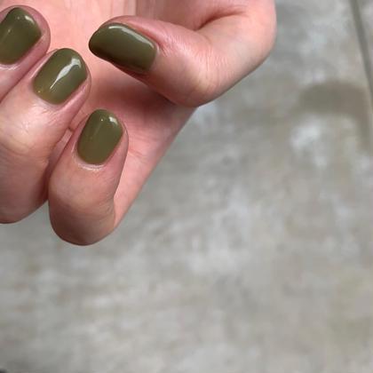 handワンカラー【自爪を削らないパラジェル使用】(オフなし)
