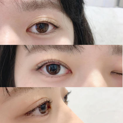 ビューラーをしなくても良くなるので、 まつ毛への負担軽減‼︎  ビューラーで瞼を挟むこともありません^ ^ パーマは、大体1ヶ月〜2ヶ月ほど持ちますのでコスパも👏💓💓 伴奈津希の