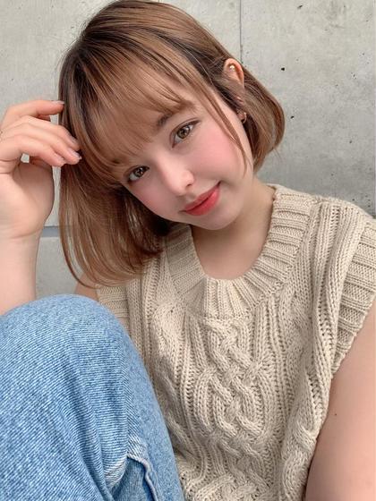 ✨💖髪から綺麗に💖✨似合わせカット➕オリジナルトリートメント➕炭酸SPA➕コテ巻き♡