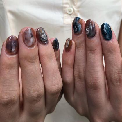 オフなし!ジェルネイルアートし放題💅♡⦅爪に優しいパラジェル使用⦆⚠︎パーツ別途料金で可能!