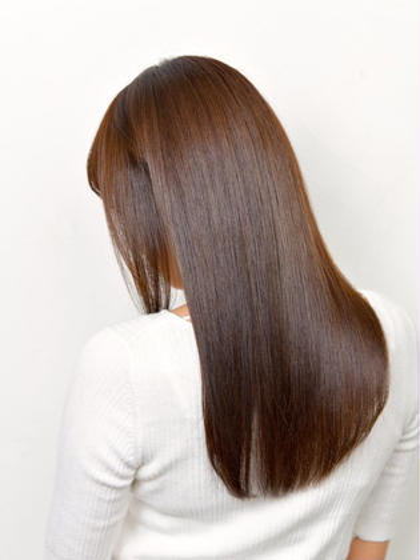 髪質改善💖酸熱トリートメント+ラメラメトリートメント✨