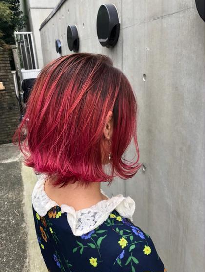 ✨モテ髪✨似合わせカット & 外国人風グラデーションカラー(ブリーチ込み) & 4STEPトリートメント