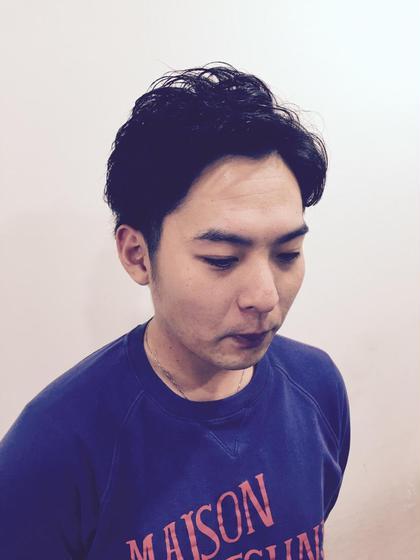 メンズ パーマ、リクルートSTYLE! MODE k's石橋所属・オギハラダイスケのスタイル