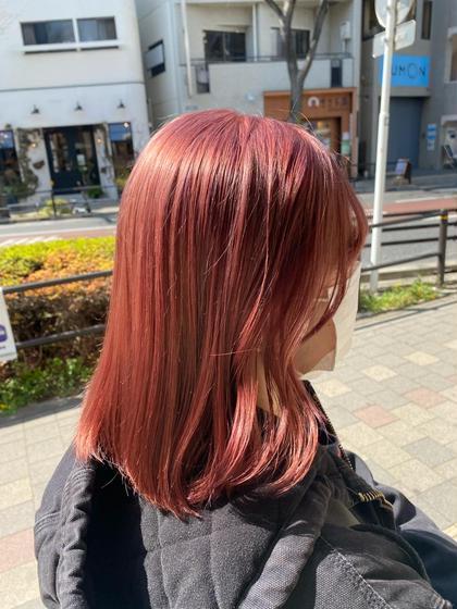 🍒メンテナンスカット+イルミナダブルカラー+トリートメント➪ 【透明感ある髪 カラーによる髪ダメージ97%減少 】