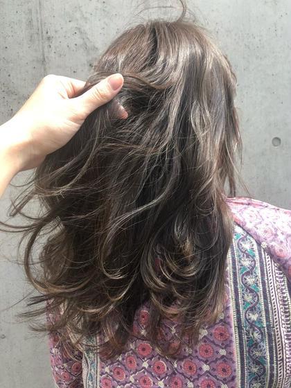 【外国人風の透明感カラー★】イルミナカラー+トリートメント