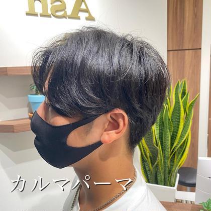 【メンズ限定】韓国風似合わせカット+《クセ毛の用》カルマパーマ