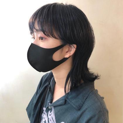 【前髪パーマ】