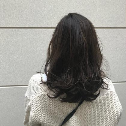 ladies cut perm model ¥9800→¥3000