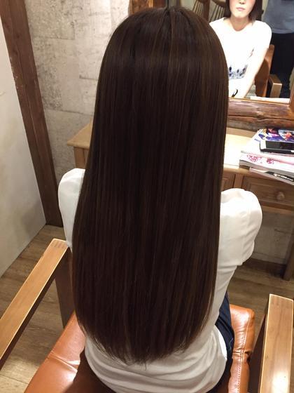 潤い!縮毛矯正&カット&TOKIOトリートメント (カラー追加の場合は+2700)