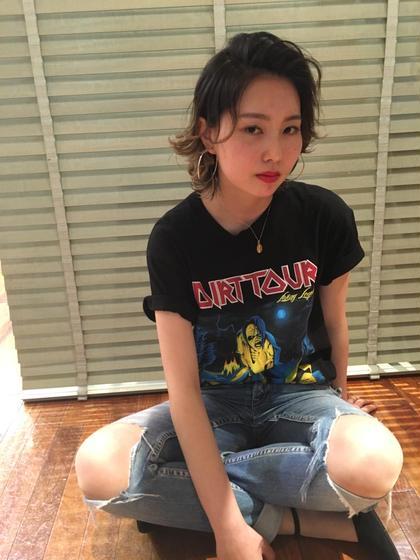 ショートパンクスタイル 'AXIS所属・山本康平のスタイル