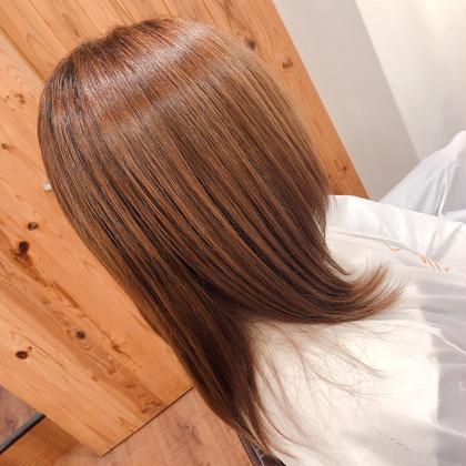 💎化粧品登録薬剤と高濃度水素で艶サラ実感‼︎💎 ❤︎縮毛矯正➕高濃度水素トリートメント