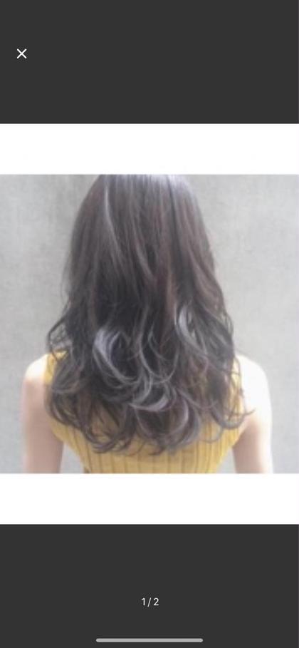 [美髪キープ]カット+髪に優しいコスメパーマ+トリートメント