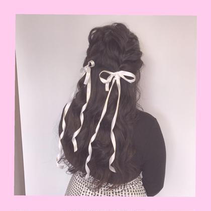 ❤️ピンクカラー❤️【SHIN】のヘアアレンジ