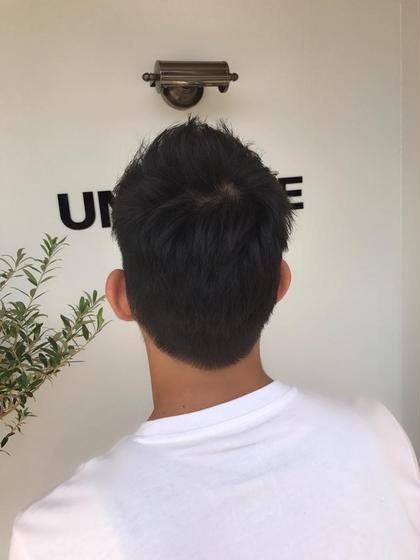 メンズ ☘️夏のベリーショートmen's☘️  短髪は爽やかさもありセットもとても簡単な楽チンヘア⭐️⭐️⭐️⭐️