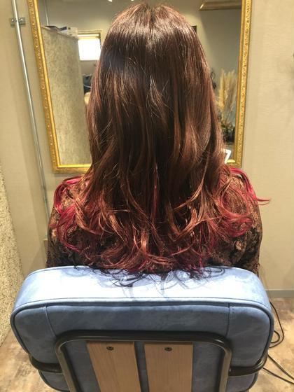 ⭕️カット➕ハイライトなどのケアブリーチ➕フルカラー➕髪質改善12種類カスタマイズトリートメント無料付き