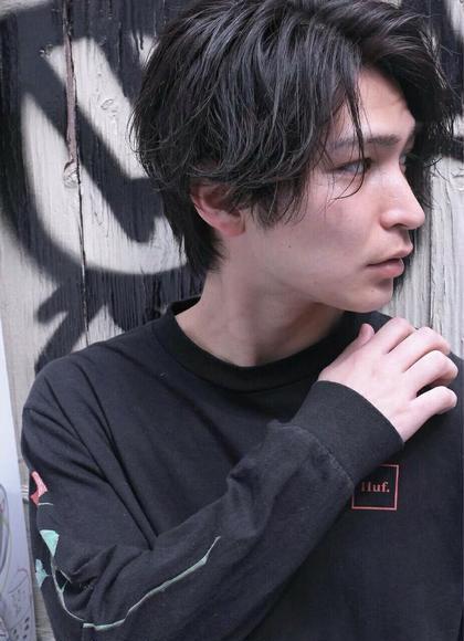 🧔メンズ限定🧔似合わせデザインカット+パーマ+シルクトリートメント☆