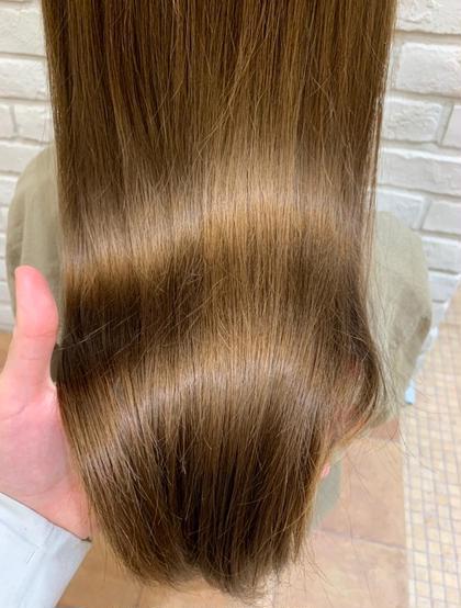 🐾5月限定🐾うる艶カラー+🍀髪質改善トリートメント🍀