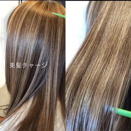 ꙳★*゚しっとりツルツル話題の🌸Xトリートメントor美髪チャージor髪質改善トリートメント★😍💕