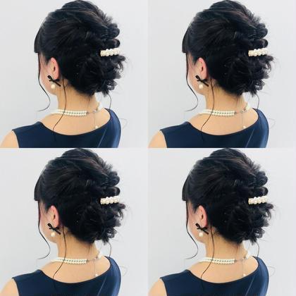 【ミニモ限定】ヘアセット✨  コテ巻きやシンプルなヘアセット¥1080円  アップ結婚式などのヘアセット¥2160円