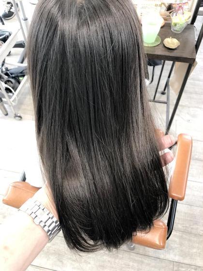 イルミナカラーで透明感あるラベンダーアッシュにカラーしました(^^) トップスタイリストSegawaのヘアカラーカタログ