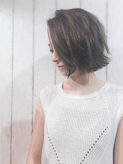 【🌺お洒落女子人気No.1🌺】カット&美髪フルカラー&オラプレックス美髪前処理Tr