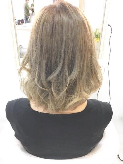 Wカラー✨1度ブリーチをして色味を加えます ELMO -hair salon-所属・中川翔のスタイル