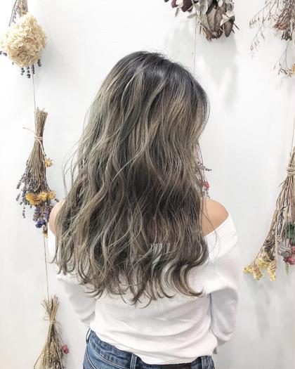 ✔️枝毛、切れ毛94%カット‼︎【ファイバープレックス使用】Wカラー(全頭ケアブリーチ+カラー)