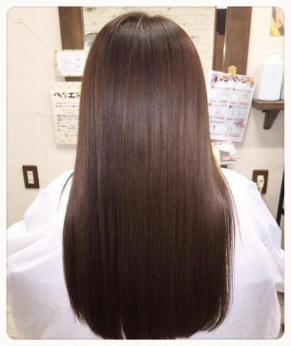 ❀お悩み別縮毛矯正❀カット+イオン導入縮毛矯正¥10800