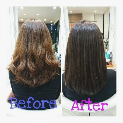 色落ちして明るくなった髪の毛も綺麗に染めさせていただきます! Ash大泉学園店所属・石川由紀乃のスタイル