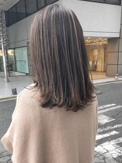 🌈人気NO.1🌈⭐️1日3名限定クーポン⭐️似合せカット+カラー+3ステップトリートメント☆