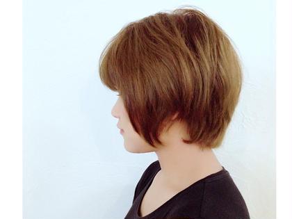 くせ毛さんが可愛くいきるように見極めカットしました! soy-kufu所属・隅優香のスタイル
