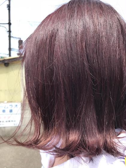 ピンクバイオレット 美容室 K-1所属・山口卓恭のスタイル