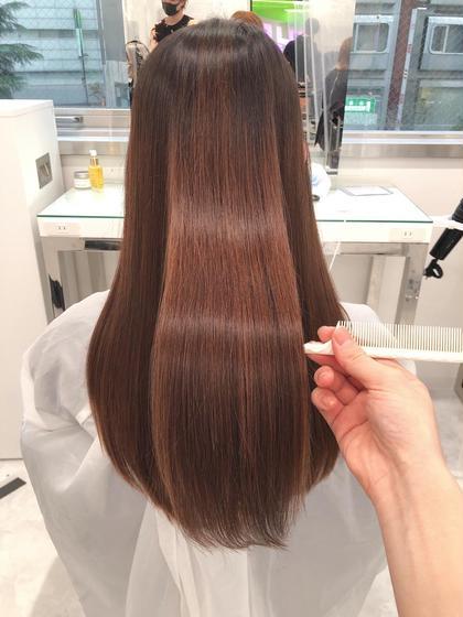 🍀新世代トリートメント🍀髪質改善トリートメント+ウル艶カラー🍀#サラサラ
