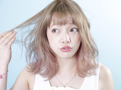 ダブルカラーで外国人のような透明感☆ NOAbykenje所属・kyuhiのスタイル