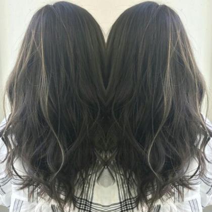 <明るくなった髪をリセット♪>ダークカラーorブラックカラー