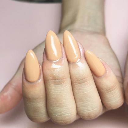 【新規】フィルイン施術✨オフケア込み♪艶爪ワンカラー