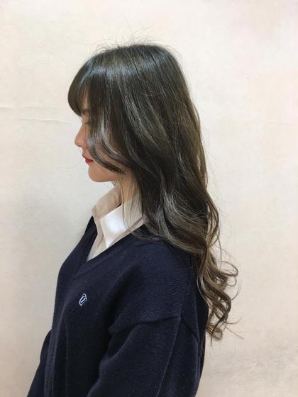 mos green⛳️ Ash相模大野店所属・小濱理沙のスタイル