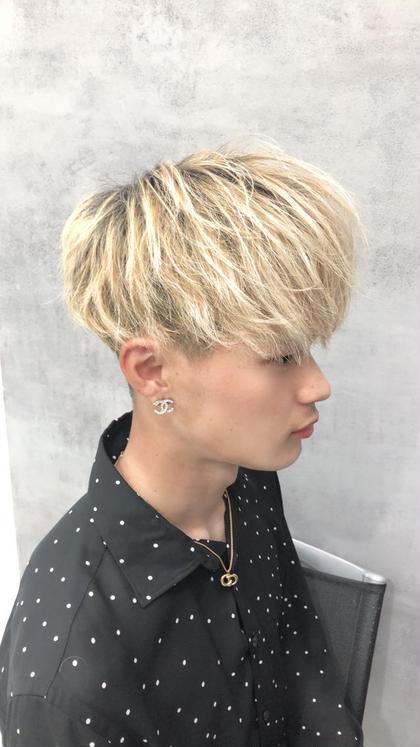 ブリーチ込みのダブルカラー✨😎思いっきりイメチェンしたい方におすすめです✨ 夏に向けて髪色を明るくしたい方必見です😄