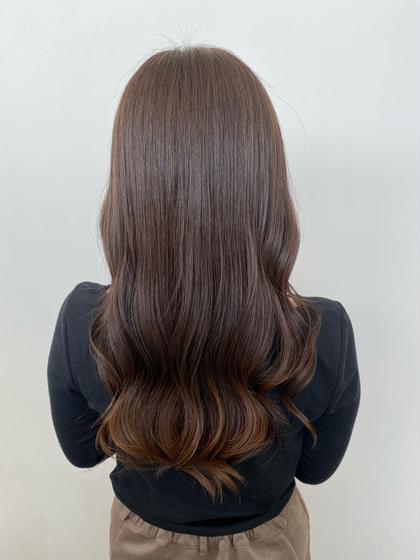 ⚠️ご新規様限定⚠️💫『前髪カット(¥0)』+『透明感カラー』+『髪質改善生トリートメント』¥9900
