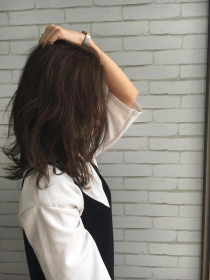 『人気のスロウカラー』でモテ髪ÜP     カット&スロウカラー&コラーゲントリートメント