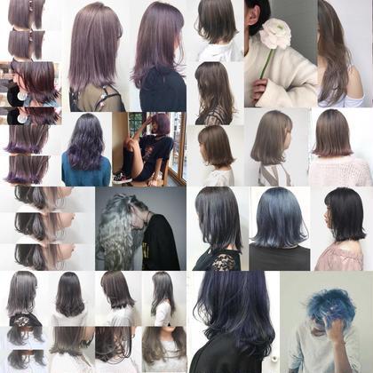 ハイトーン集 福田愛実のセミロングのヘアスタイル