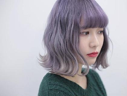 ホワイトピンクパール CLLN Hair design所属・札木哉太のスタイル