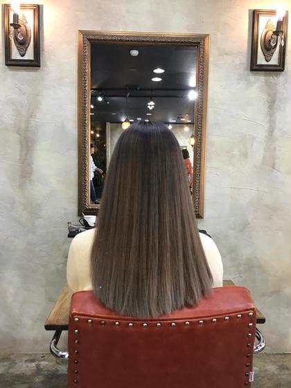 古田翔之のセミロングのヘアスタイル