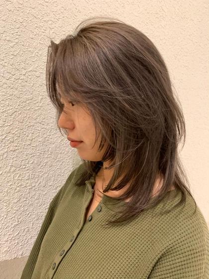 Lalanne所属の福山美佑のヘアカタログ
