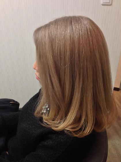 ベージュカラー Hair Grande Seeek所属・MatsubaraYasuyukiのスタイル