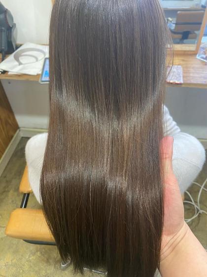 🌟髪質改善🌟ボリューム抑えたい方オススメ🌟カラー&チューニングケア&フローディアマスクトリートメント