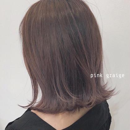 ✨絶対痛ませたくない人に✨カット+エヌドットorイルミナカラー +T2T3+髪質改善トリートメント❤︎3回目まで