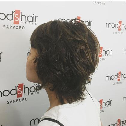 パーマ×モッズスタイル【ネバダ】 mod's hair札幌店所属・伊藤雪菜のスタイル
