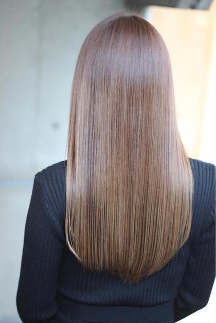質感調整カット+髪質改善トリートメント
